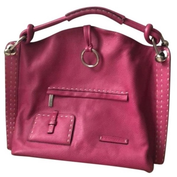 BCBGMaxAzria Handbags - BCBGMAXAZRIA large leather satchel